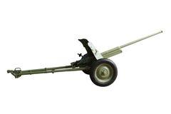 Het kanon van de artillerie Royalty-vrije Stock Afbeeldingen