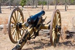 Het Kanon van de Burgeroorlog Royalty-vrije Stock Afbeelding