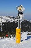 Het kanon van de sneeuw royalty-vrije stock afbeelding