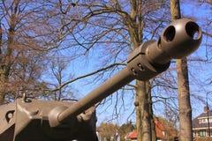 Het kanon van de tank Stock Afbeeldingen