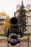 Het Kanon van de tsaar in Moskou het Kremlin stock foto's
