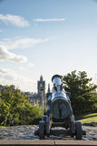 Het kanon van Edinburgh royalty-vrije stock foto