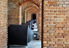 Het Kanon van het fort Stock Afbeeldingen