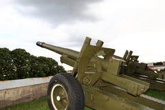 Het kanon van het gebied Stock Afbeeldingen
