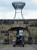 Het kanon van het Kasteel van Edinburgh Royalty-vrije Stock Fotografie
