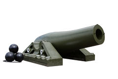 Het kanon van het schip Stock Afbeelding