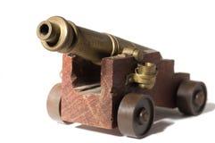 Het kanon van het stuk speelgoed Stock Foto
