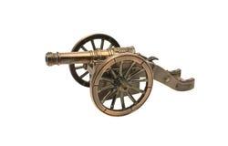 Het kanon van het stuk speelgoed royalty-vrije stock fotografie