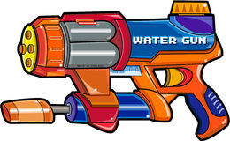 Het kanon van het water Royalty-vrije Stock Afbeelding