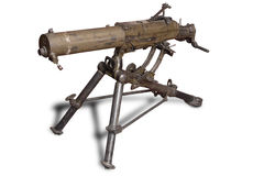 Het kanon van Machinen van het systeem van de Stelregel Royalty-vrije Stock Fotografie