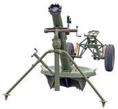 Het kanon van het mortierkanon Royalty-vrije Stock Afbeeldingen