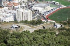 Het Kanonplaatsingen van Gibraltar Royalty-vrije Stock Afbeeldingen