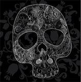 Het kant van de schedel Stock Afbeelding