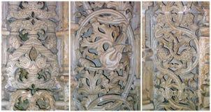Het kant van de steen van Batalha, Portugal Stock Afbeelding