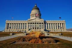 Het Capitool van de Staat van Utah, Salt Lake CIT Royalty-vrije Stock Foto