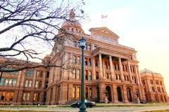 Het Kapitaal van de Staat van Texas stock afbeelding