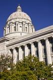 Het Kapitaal van de Staat van Missouri in Stad Jeff Stock Foto's