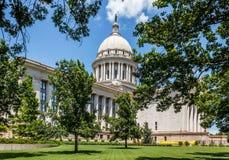 Het Kapitaal van de Staat van Oklahoma Stock Foto's