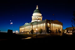 Het Kapitaal van de Staat van Utah Stock Foto's