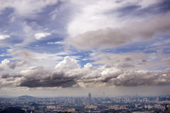 Het kapitaal van Maleisië - Kuala Lumpur Stock Foto's
