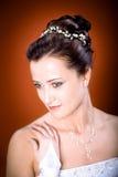 Het kapsel van de bruid royalty-vrije stock fotografie
