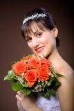 Het kapsel van de bruid stock fotografie