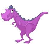 Het Karakter Dino van het beeldverhaal Stock Foto