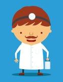 Het karakter van de arts stock illustratie