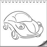 Het karakter van de auto Stock Foto's