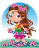 Het karakter van de lente Stock Afbeeldingen