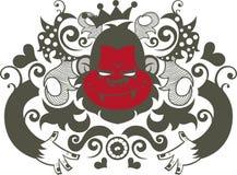Het karakter van de orang-oetan royalty-vrije illustratie