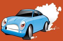 Het karakter van de sportwagen Royalty-vrije Stock Foto