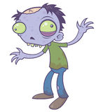 Het Karakter van de zombie Stock Afbeelding