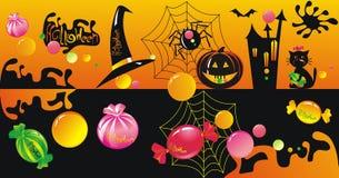 Het karakter van Halloween - reeks Royalty-vrije Stock Afbeelding
