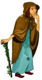 Het karakter van het Fairytalebeeldverhaal - illustratie voor de kinderen Stock Foto