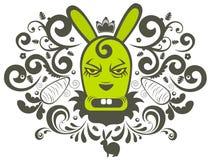 Het karakter van het konijn vector illustratie