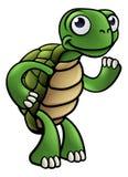 Het Karakter van het schildpadbeeldverhaal Stock Afbeeldingen