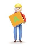 Het karakter van het stuk speelgoed Royalty-vrije Stock Afbeelding