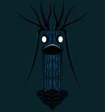 Het karakter van het virus. Royalty-vrije Stock Afbeeldingen