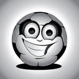 Het karakter van het voetbal - reeks 1 stock illustratie
