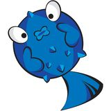 Het karakter van vissen Stock Fotografie