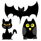 Het karakterbeeldverhaal van Halloween. Stock Fotografie
