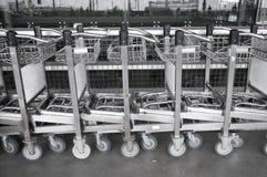Het karretje van de bagage Royalty-vrije Stock Foto