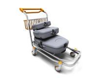Het karretje van de bagage Royalty-vrije Stock Fotografie
