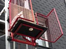 Het karretje van de lift en krukeenheid Royalty-vrije Stock Afbeeldingen
