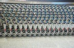 Het karretje van de luchthaven Royalty-vrije Stock Afbeeldingen