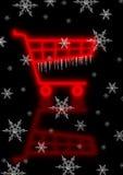 Het Karretje van Kerstmis Stock Foto's