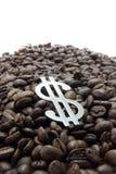 Het kartel van de koffie. Stock Afbeeldingen