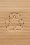 Het karton recycleert 2 Stock Foto's