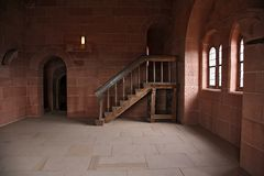 In het kasteel royalty-vrije stock foto's